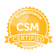 Badge Professional Scrum Master