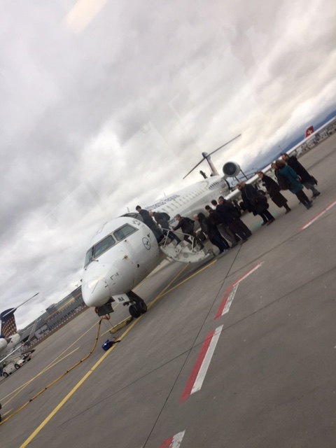 Boarding the planing